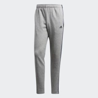 Essentials 3-Stripes Pants Medium Grey Heather / Collegiate Navy BK7448