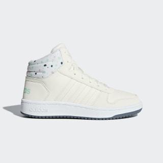 Баскетбольные кроссовки Hoops 2.0 Mid cloud white / cloud white / clear mint B75751