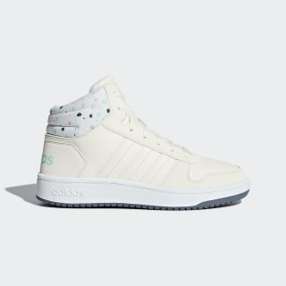 Tenis Hoops 2.0 Mid CLOUD WHITE/CLOUD WHITE/CLEAR MINT B75751