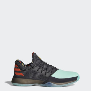 Hommes Harden Vol. 1 Shoes Core Black/Easy Green /Energy BW1573