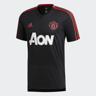 Manchester United Training Jersey Black / Blaze Red / Core Pink CW7608