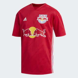 New York Red Bulls Away Replica Jersey Bold Red / White DM2956