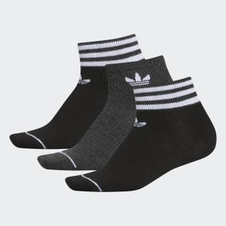 Low-Cut Socks 3 Pairs Black CL5037