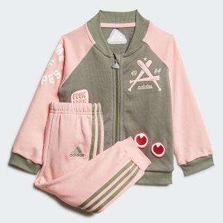 Спортивный костюм Collegiate Legacy Green / Glow Pink / Glow Pink FM6406