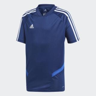 Camiseta entrenamiento Tiro 19 Dark Blue / Bold Blue / White DT5293