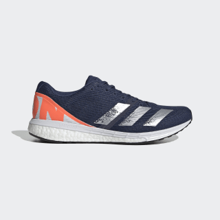 Adizero Boston 8 Schoenen Tech Indigo / Silver Metallic / Core Black EG6639