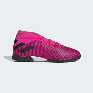 Scarpe da calcio Nemeziz 19.3 Turf Shock Pink / Core Black / Shock Pink F99944