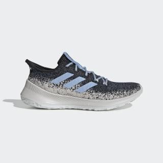 Кроссовки для бега Purebounce+ tech ink / glow blue / ftwr white F34052