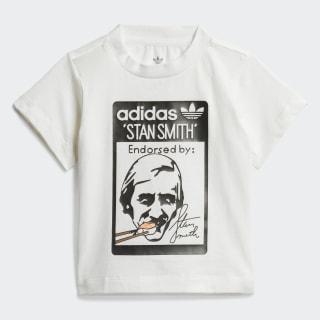 Camiseta Stan Smith Sushi White / Black FM4873