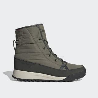 Buty TERREX Choleah Padded ClimaProof Boots Raw Khaki / Legend Earth / Semi Coral G26447