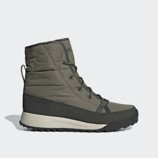 Chaussure de randonnée Terrex Choleah Padded Climaproof Raw Khaki / Legend Earth / Semi Coral G26447
