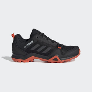 Terrex AX3 Hiking Shoes Core Black / Carbon / Active Orange G26564