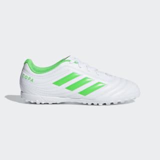 Футбольные бутсы Copa 19.4 TF ftwr white / solar lime / ftwr white D98101