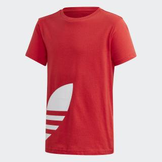 T-shirt Big Trefoil Lush Red / White FM5667