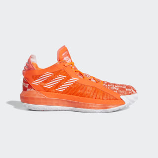Dame 6 Shoes Solar Red / Cloud White / Solar Red EH2440