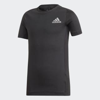Alphaskin T-Shirt Black / Reflective Silver FL1338