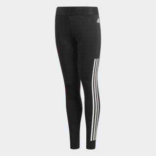 Леггинсы Must Haves 3-Stripes black / white DV0317