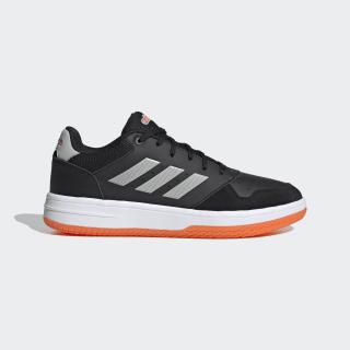 Кроссовки для баскетбола Gametalker Core Black / Grey Two / Orange EH1172