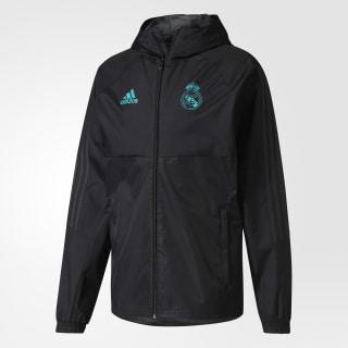 Chamarra Real Madrid Rain BLACK/SOLID GREY F11 BQ7810