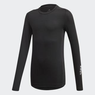 Alphaskin Long-Sleeve Top Black / Reflective Silver FL1339