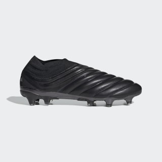 Футбольные бутсы Copa 19+ FG core black / core black / silver met. F35513