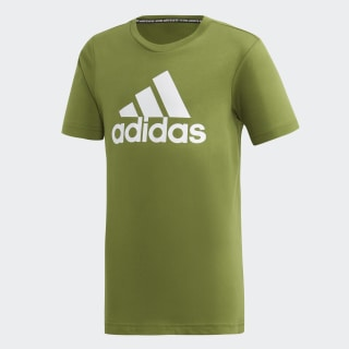 Must Haves  Badge of Sport T-Shirt Tech Olive / White ED6470