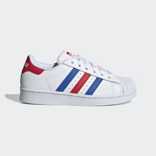 Chaussure Superstar Cloud White / Blue / Team Colleg Red FV3689