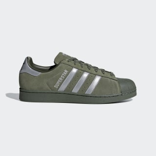 Superstar sko Base Green / Supplier Colour / Night Cargo B41988