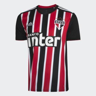 CAMISA SAO PAULO II RED/WHITE/BLACK DZ5620