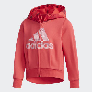 Fitted Hoodie Red / True Pink DW4045