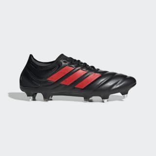 Calzado de Fútbol Copa 19.1 Terreno Suave Core Black / Hi-Res Red / Silver Metallic G26642