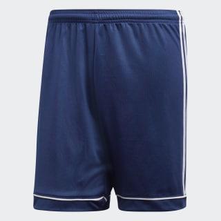 กางเกงฟุตบอลขาสั้น Squadra 17 Dark Blue / White BK4765