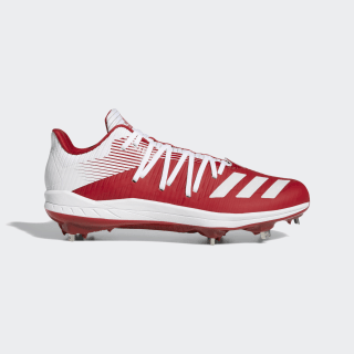 Adizero Afterburner 6 Cleats Power Red / Cloud White / Silver Metallic G27660