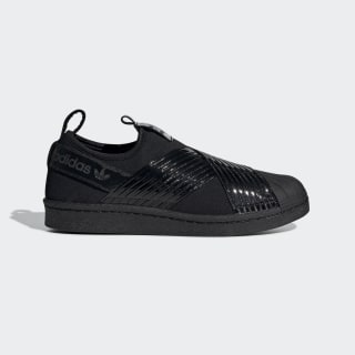 Superstar Bağcıksız Ayakkabı Core Black / Core Black / Collegiate Purple BD8055