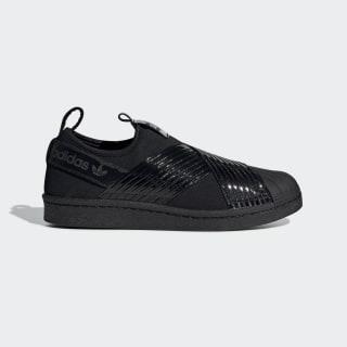 Zapatillas SUPERSTAR SLIP ON W core black / core black / collegiate purple BD8055