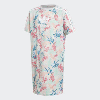 FLW TEE DRESS Multicolor / White EJ6298