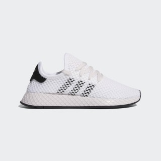 Zapatillas Deerupt Runner Cloud White / Core Black / Orchid Tint EE5777