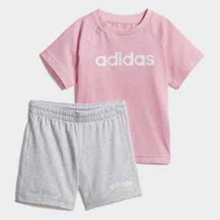 Conjunto Verão Linear Light Pink / White DV1269