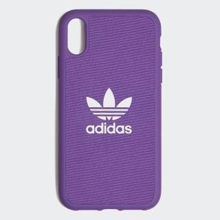 Funda iPhone X Moulded 6,1 pulgadas Active Purple / White CL4889