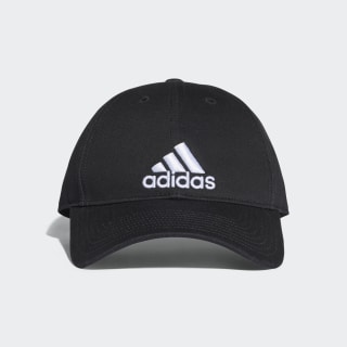 Classic Six-Panel Cap Black / Black / White S98151