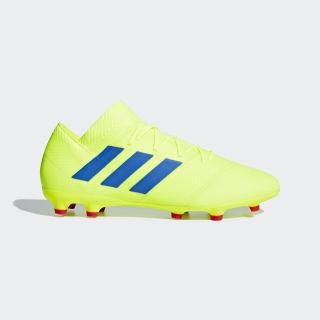 Zapatos de Fútbol Nemeziz 18.2 Terreno Firme Solar Yellow / Football Blue / Active Red BB9431