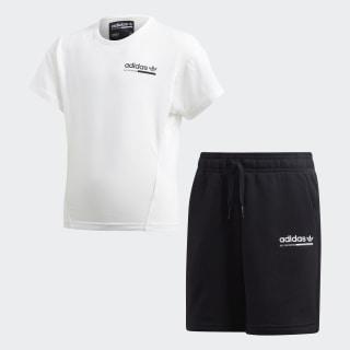 Kaval Shorts Set Cloud White / Black DV2349