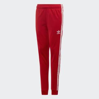 Pants Superstar scarlet/white EI9886