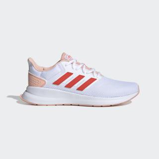 Tênis Runfalcon Cloud White / Active Orange / Glow Pink EF0151