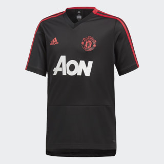 Camisa Treino Manchester United BLACK/BLAZE RED/CORE PINK CW7611