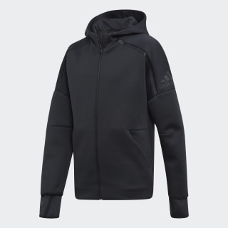 Худи adidas Z.N.E. Fast Release zne htr/black / black ED6444