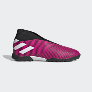 Nemeziz 19.3 Turf Boots Shock Pink / Cloud White / Core Black EF8849