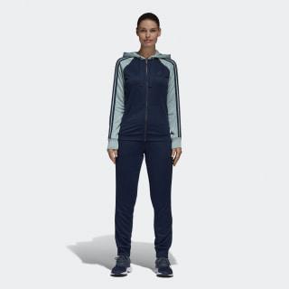 Pants y Sudadera Re-Focus Felpa Mujer COLLEGIATE NAVY/TACTILE GREEN S17 BQ8398