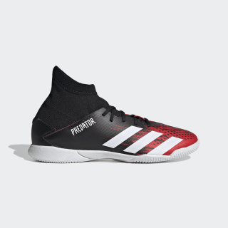 Calzado de Fútbol Predator 20.3 Cancha Cubierta Core Black / Cloud White / Active Red EF1954