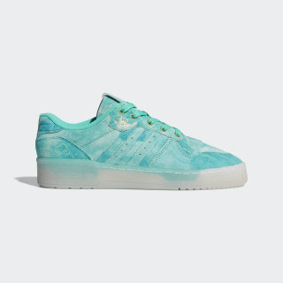 Rivalry Low Shoes Hi-Res Green / Cloud White / Gold Foil FV4523